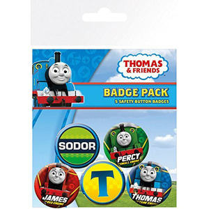 BP0534 Thomas and Friends 뱃지(5p)