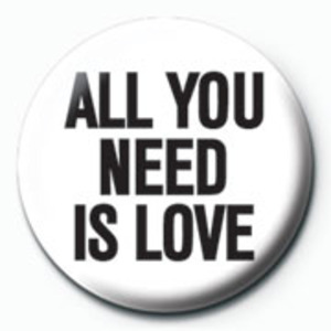 PB1312 All You Need Is Love 뱃지
